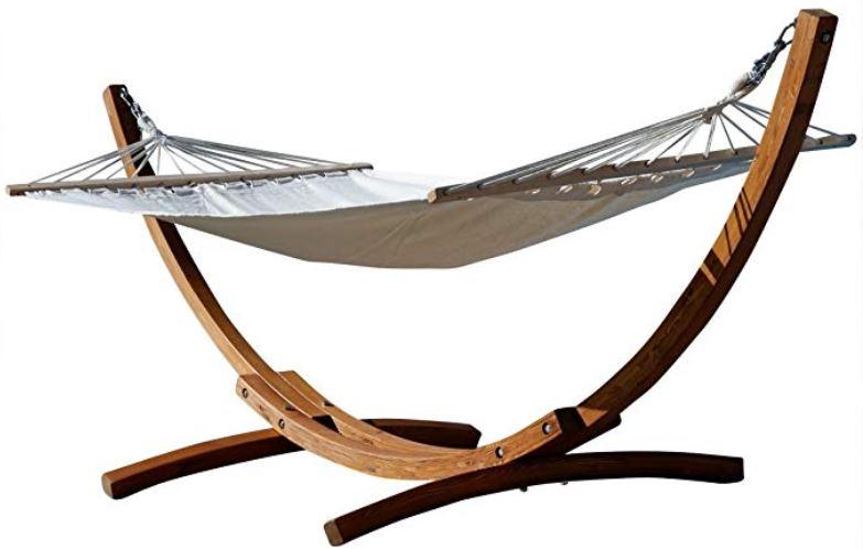 Amaca in legno di larice - taglia XL giardino terrazzo