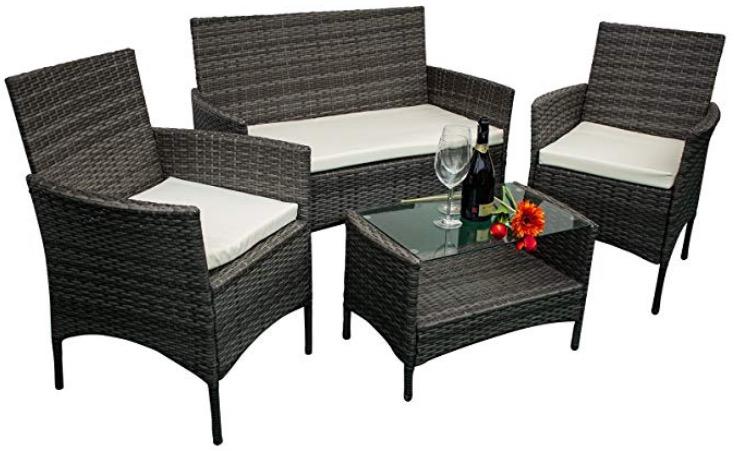 Mobili da giardino in ecorattan poltrona divano tavolo