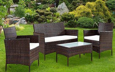 Set Salotto completo per arredo giardino terrazzo
