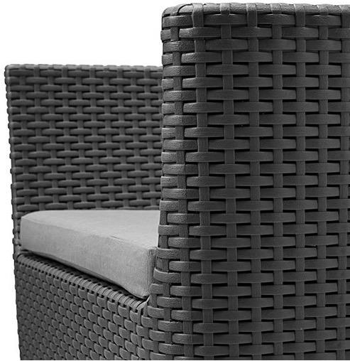 poltrona da esterno con cuscino morbido comodo