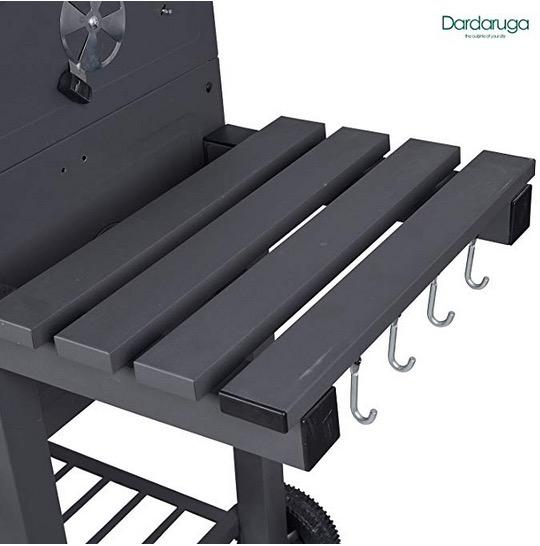 ripiano pieghevole mensola porta attrezzi grill barbeque
