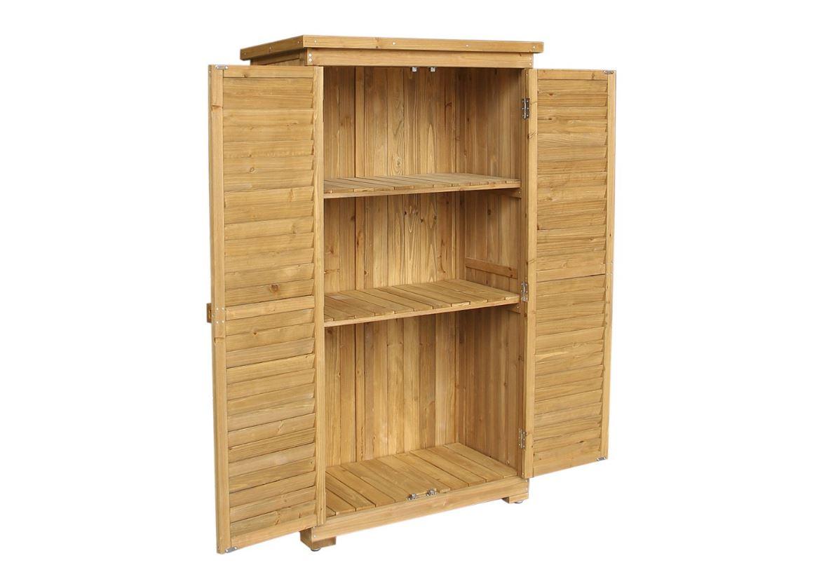 Armadio Da Garage ➡️ armadio portattrezzi due ante per esterno in legno