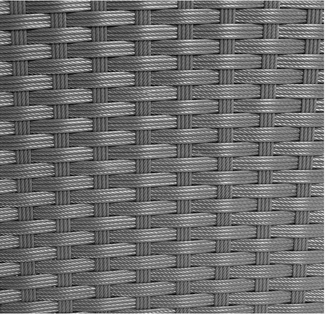 intreccio rattan grigio mobili esterno
