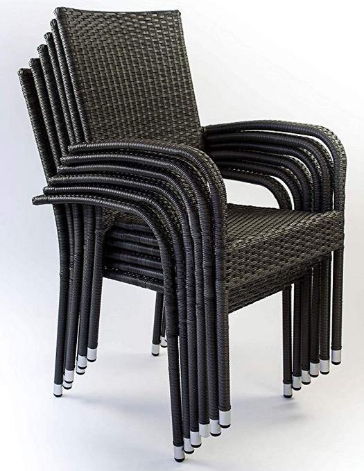 sedia impilabile poltrona giardino esterno