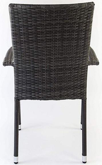 sedia impilabile schienale esterno casa
