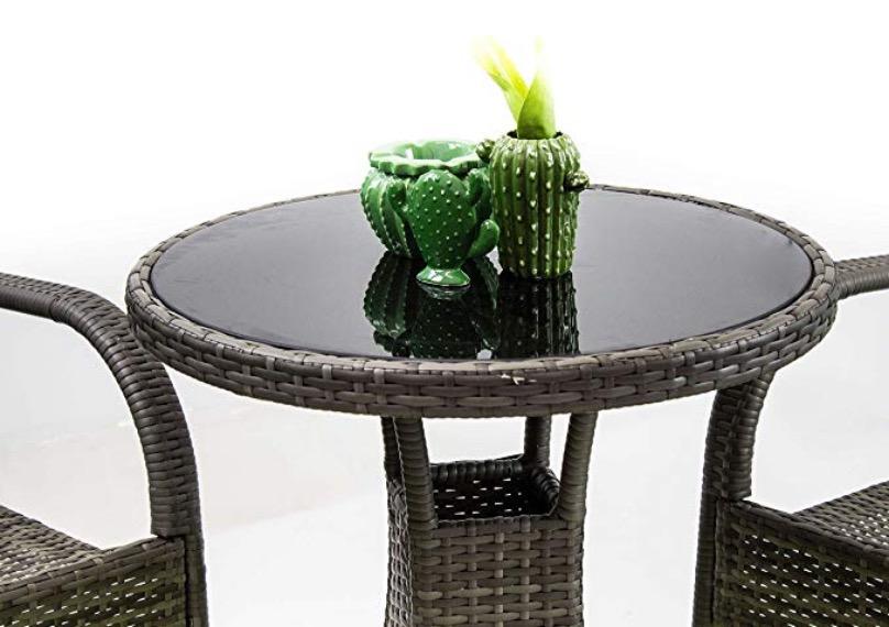 set arredo giardino poltrone tavolo tondo