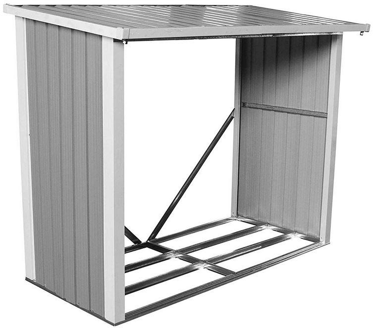 Box legna da esterno in metallo ferro