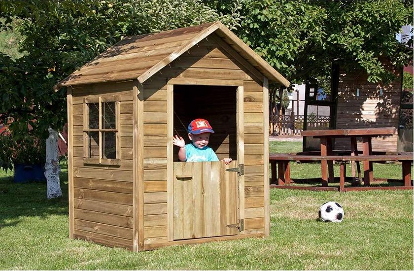 Casetta in legno bambini da giardino gioco