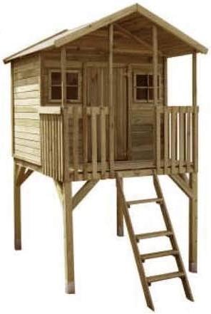 Casetta in legno palafitta per bambini brico fai da te