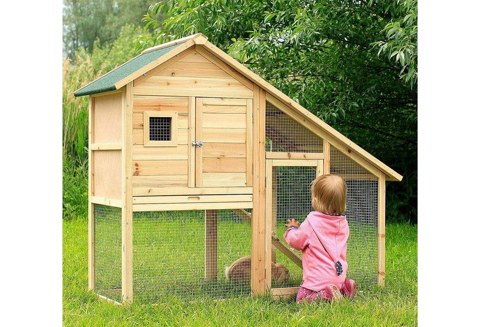 Conigliera stabbiolo per piccoli animali da cortile