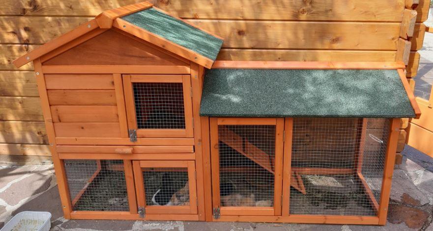 Pollaio conigliera faidate legno prefabbricato