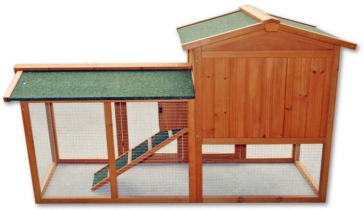 casetta galline lepri conigli in legno da esterno