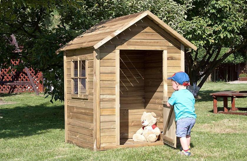 casetta legno da esterno gioco bambini