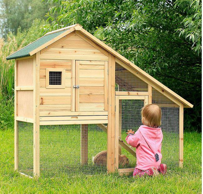 conigliera regalo bambini pollaio terrazzo giardino