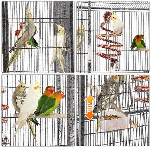 gabbia voliera pappagalli criceti porcellini roditori