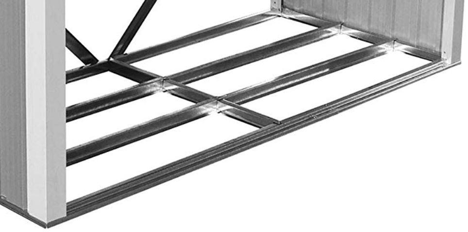 legnaia in metallo con base robusta quintali