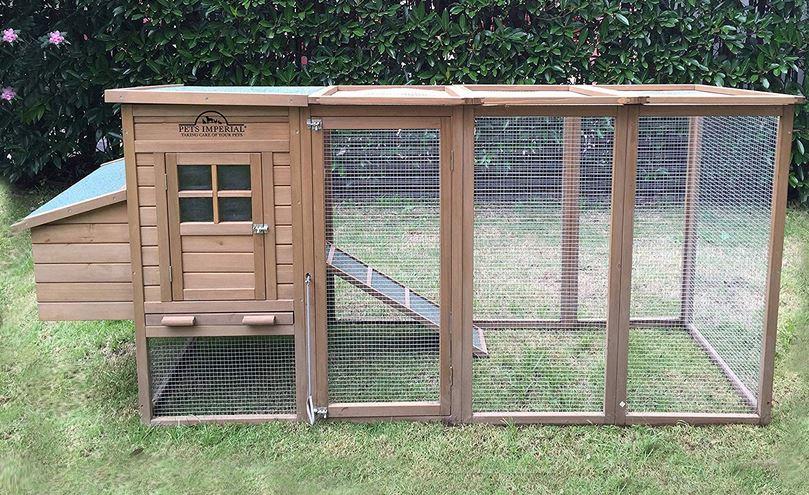 pollaio prefabbricato in legno da esterno giardino