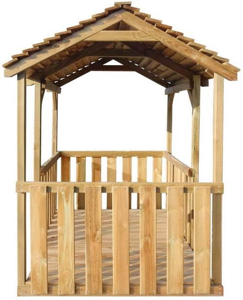 Casetta bambini in legno certificato scuola luoghi pubblici