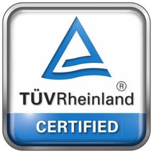 Certificazione sicurezza gioco TUV Rheinland