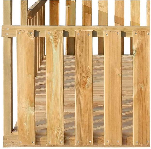 casetta gioco certificazione sicurezza europea legno qualita