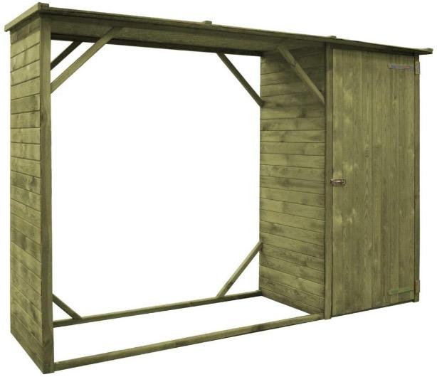deposito legna capanno brico ferramenta dimensioni