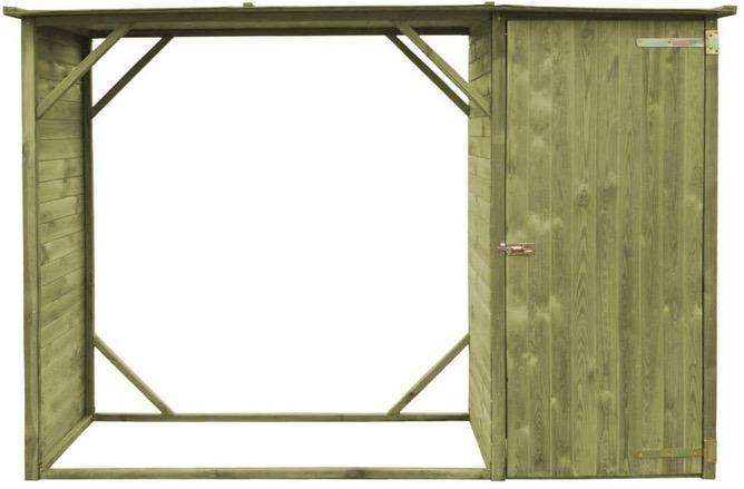 progetto legnaia fai da te istruzioni montaggio costruzione