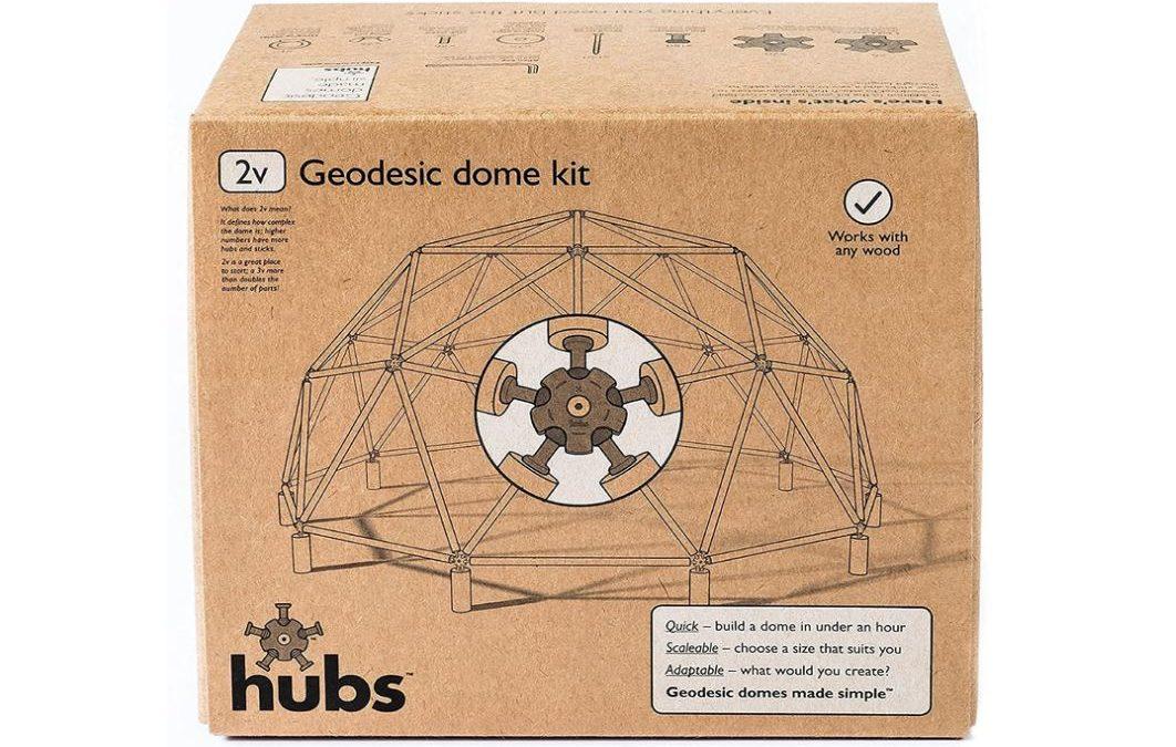 Cupola Geodetica – Kit fai da te per giardino e interno