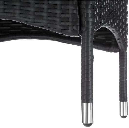 sedia polirattan da esterno bar piscina