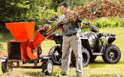 Biotrituratore per legna secca, legname e pellet